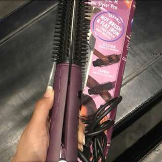 in styler curling and hair straightening iron