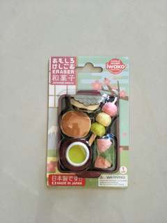BN Japanese Sweets Erasers