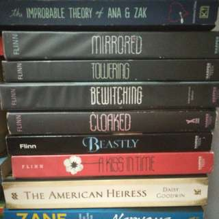 Alex Flinn books