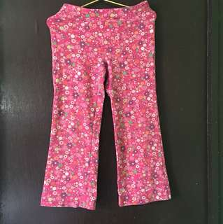 Jumping Beans Pink Floral Pants