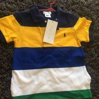 2 piece Ralph Lauren Father and Son