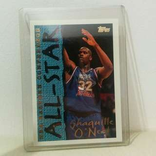 Shaquille O'Neal All-Star NBA Card