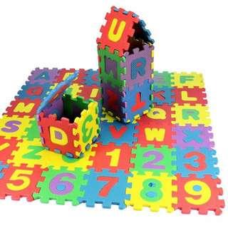 36 pieces Letters Puzzle Mat
