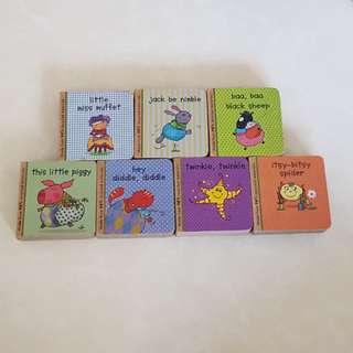 Baby Nursery Rhyme Books (7 Books)