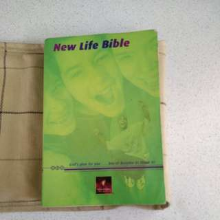 New Life Bible (New Living Translation)