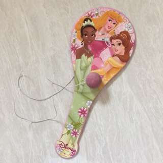 Princess bat for hitting ball with string