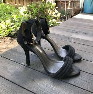 Tony Bianco black stiletto size 8 - Free shipping