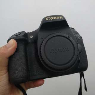 Set dslr canon 7D