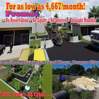 Subdivision Lot Only in Danao City, Cebu
