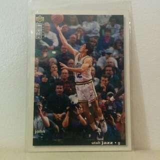 John Stockton NBA Card