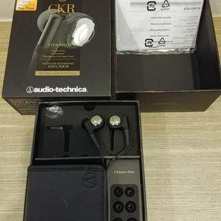 Audio technica ath-ckr10 titanium