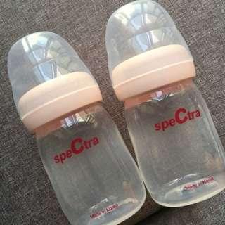 Spectra milk storage bottle