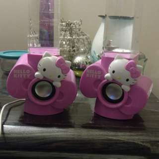 Hello Kitty water speakers