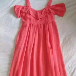 Top shop summer dress sz UK 8