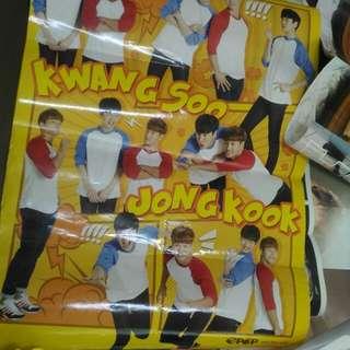Poster BTS n JUNG KOOK/LEE KWANG SOO