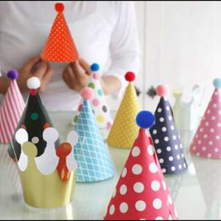 Party Hat Set (from Korea)
