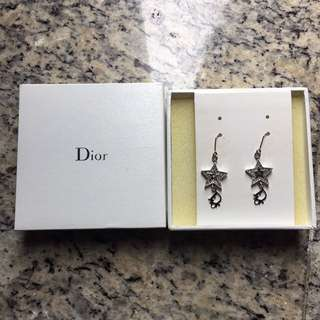 Dior earrings 星星耳環