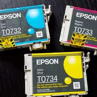 EPSON STYLUS C79 C90 T0731 T0732 T0733 T0734 T73N 墨盒