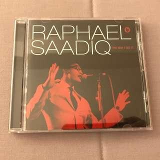 CD Audio - Raphael Saadiq, The Way I See It