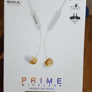 Soul Prime Wireless Earphone