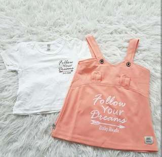 Cute Baby Overall Set (IMPORT)