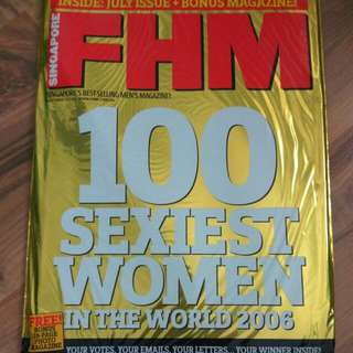 FHM july 2006 100 sexiest women in the world