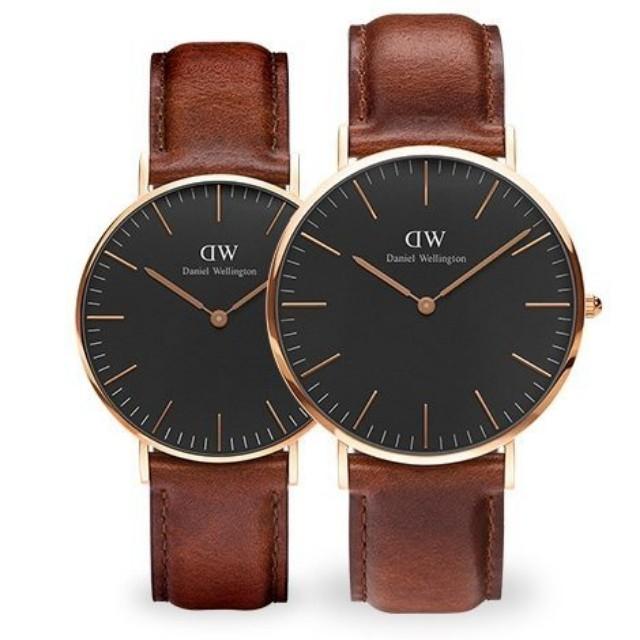a9f04c261d09 100% Original  CNY SALES  Daniel Wellington Watch Classic Black ...