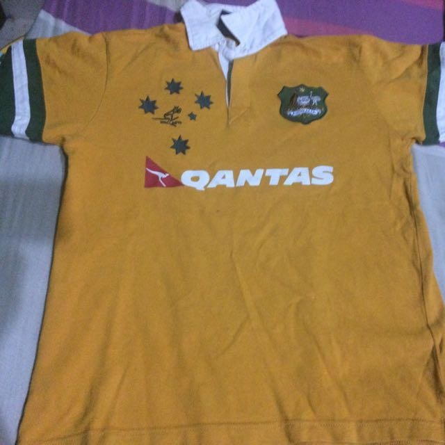 3b25509e193 100% Original Wallabies Australia Rugby Jersey, Sports, Athletic ...