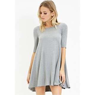 FOREVER 21 TRAPEZE T-SHIRT DRESS