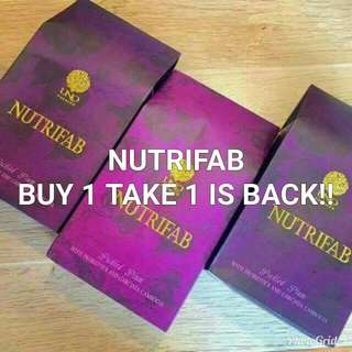 Nutrifab Buy 1 Take 1 With Free Nuvelle Soap