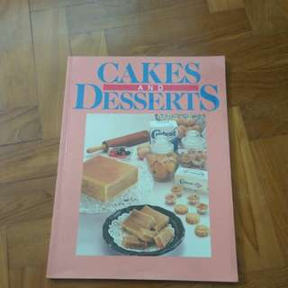 Cook Book Cakes & Desserts