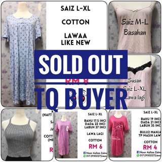 ITEM SOLD OUT