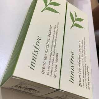 Innisfree tea moisture essence 兩支