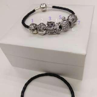 Pandora beads and bracelet