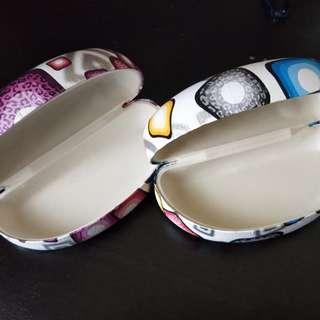🚚 普普風眼鏡盒 2個不拆賣