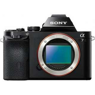 kredit Tanpa Kartu kredit Sony Alpha A7 Body Only + FE 50mm F1.8