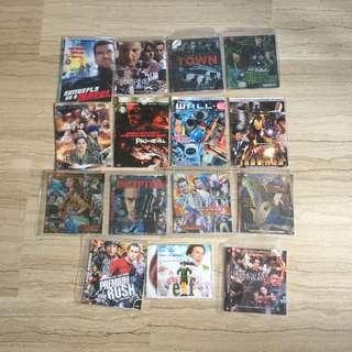 English Movies DVD ($18 in bundle 15 pieces)