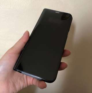Samsung galaxy s8 plus Flip see throughcase