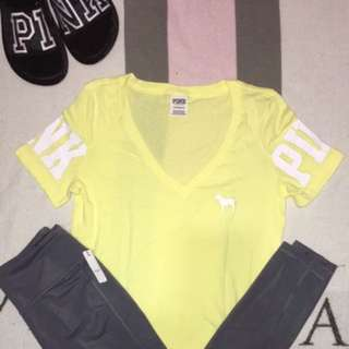 Pink Victoria Secret 3pc set small