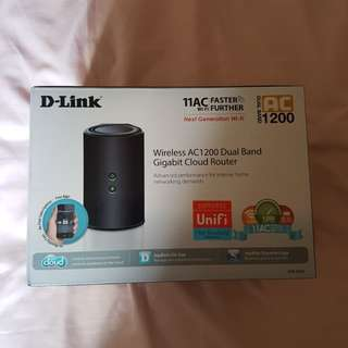 D-link Wireless AC1200 Dual Router