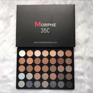 morphe 35c eyeshadow palette