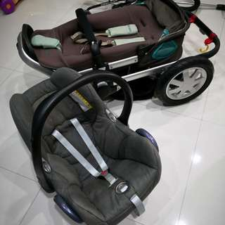 Quinny Buzz with Maxi Cosi Infant Seat