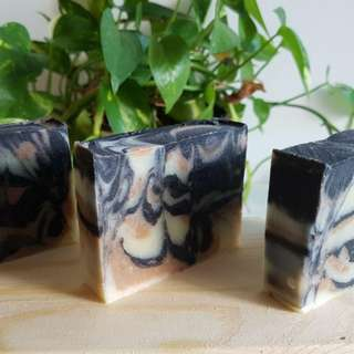 Red Admiral Artisan Soap (Charcoal & Moroccan Red Clay Soap)