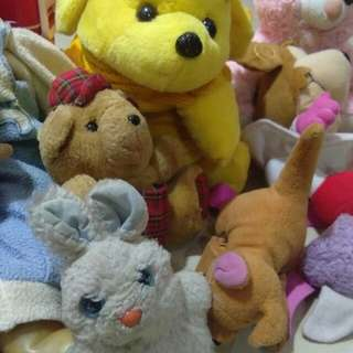 Old stuffed toys