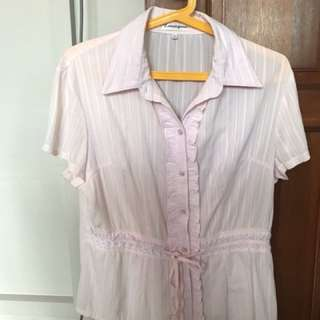 Blouse suitable for office