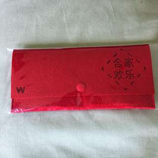 Red Packet Pouch Cut-out Words / Organizer / Ang Pow Holder