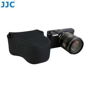 JJC OC-C2BK Black Neoprene Mirrorless Camera Case for Canon M2 M3 M10