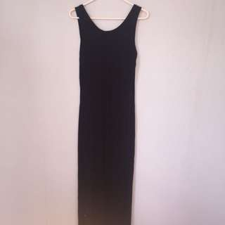 Cotton On Large Black Tube Dress