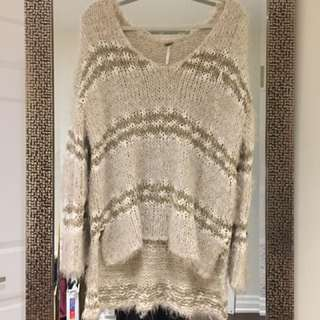 FREE PEOPLE Knit Sweater!