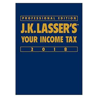 J.K. Lasser's Your Income Tax 2018 Kindle Edition by J.K. Lasser Institute (Author)